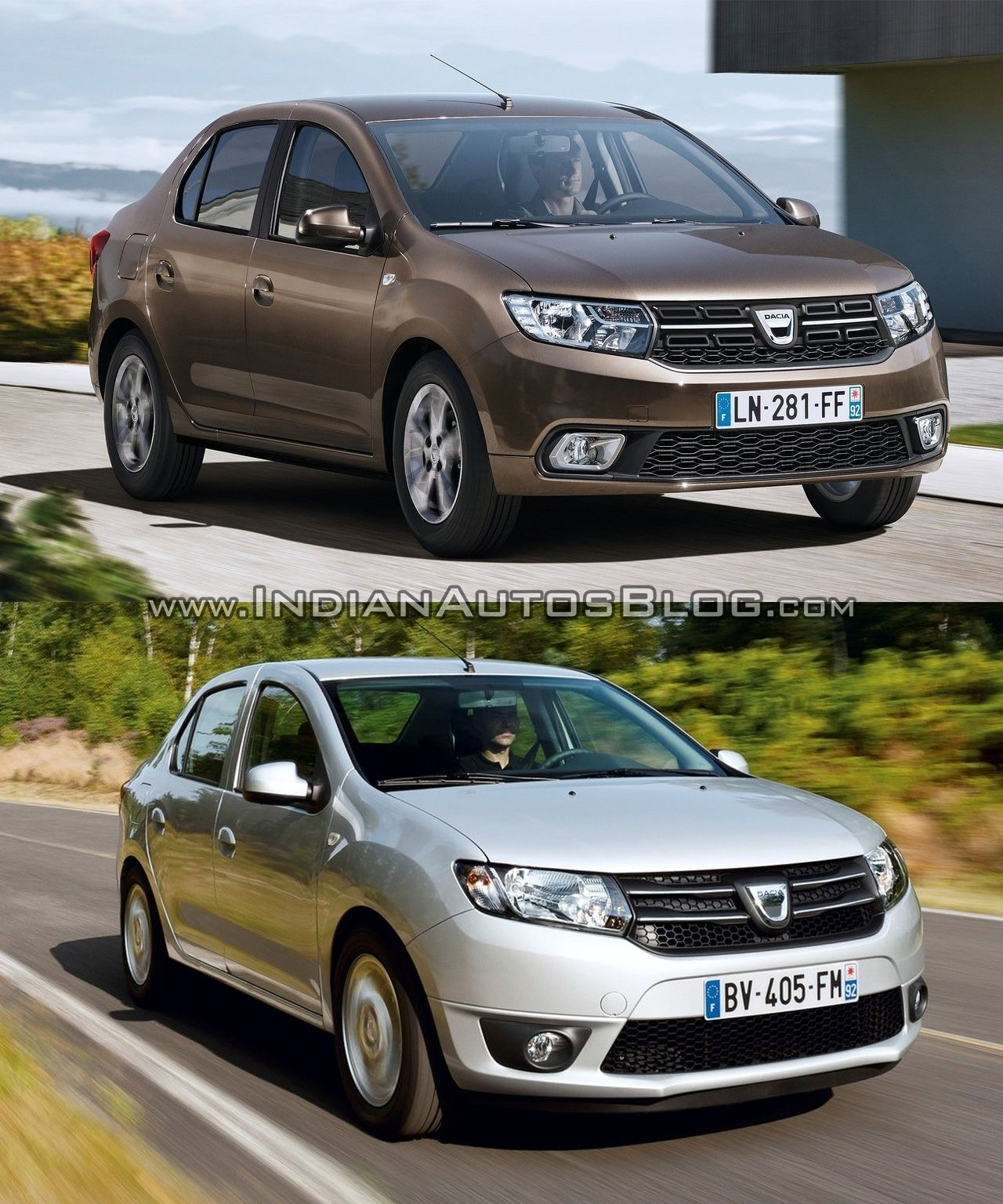 2017 dacia logan vs 2012 dacia logan old vs new cars daily dacia had unveiled a facelift for the dacia sandero dacia logan mcv and the dacia logan sedan sold in some markets at the 2016 paris motor show publicscrutiny Image collections