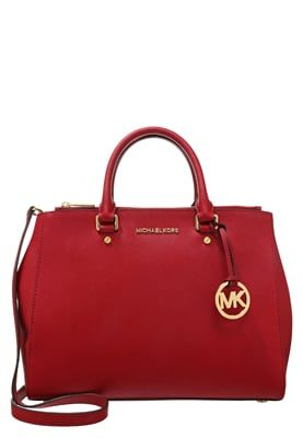 Sacs MICHAEL Michael Kors SUTTON - Sac à main - cherry rouge clair  374, 33b99ef170a