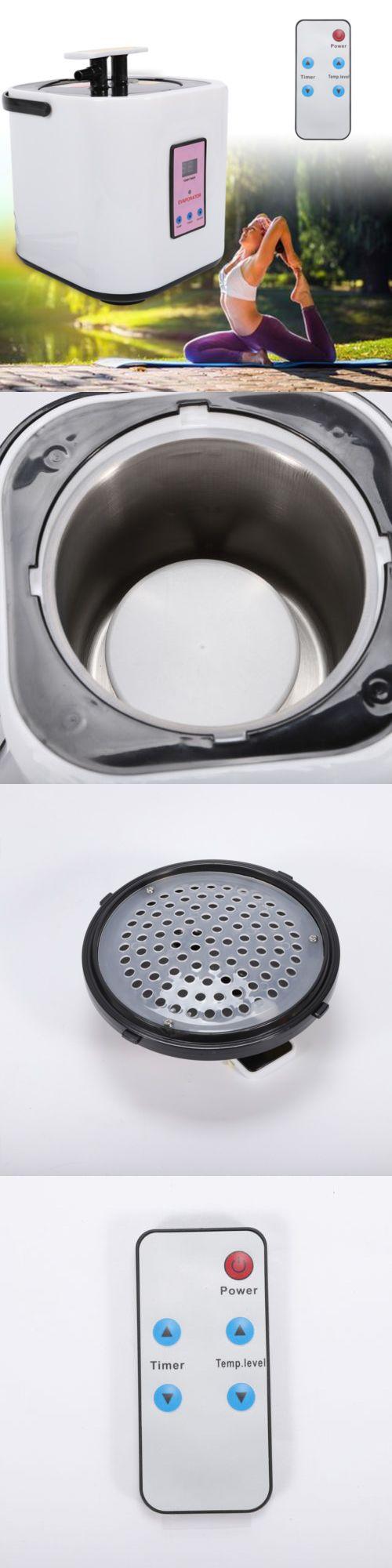 Details About 2l Portable Sauna Steamer Pot Machine Home Spa Steam