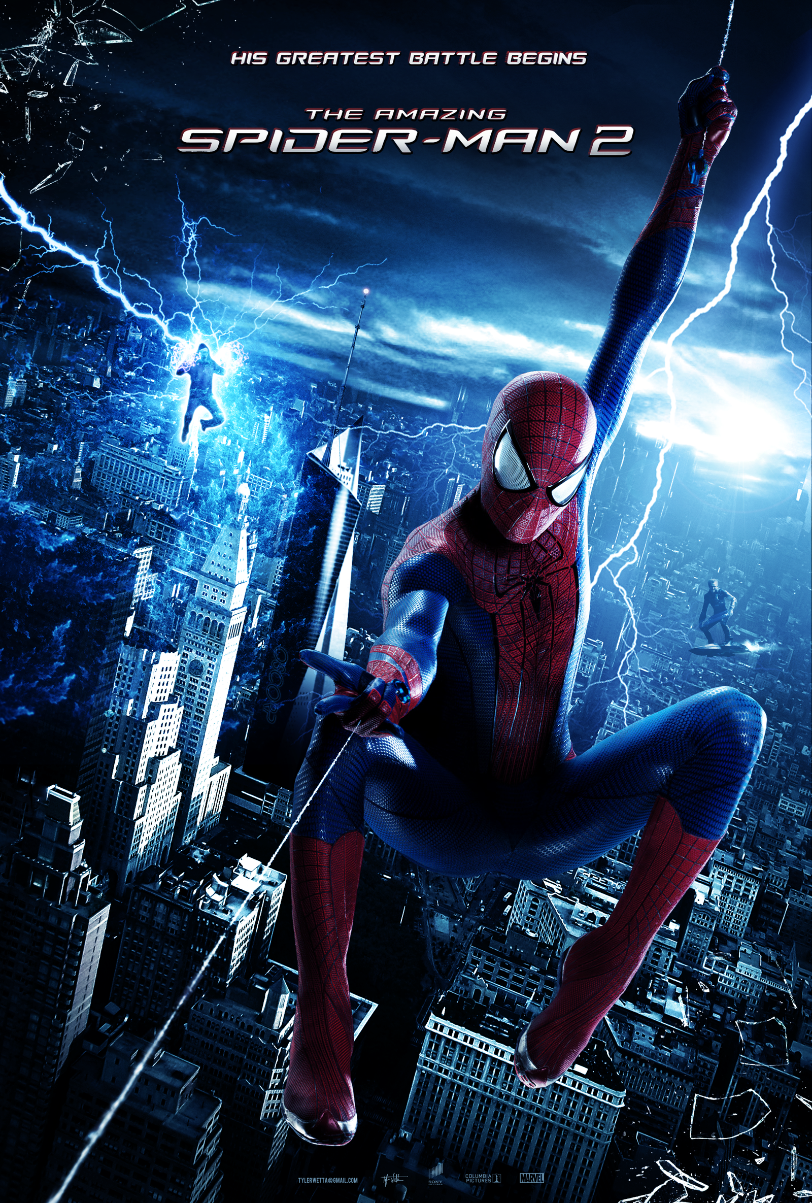The Amazing Spider Man 2 Poster By Ancoradesign On Deviantart The Amazing Spiderman 2 Spiderman Movie Amazing Spiderman