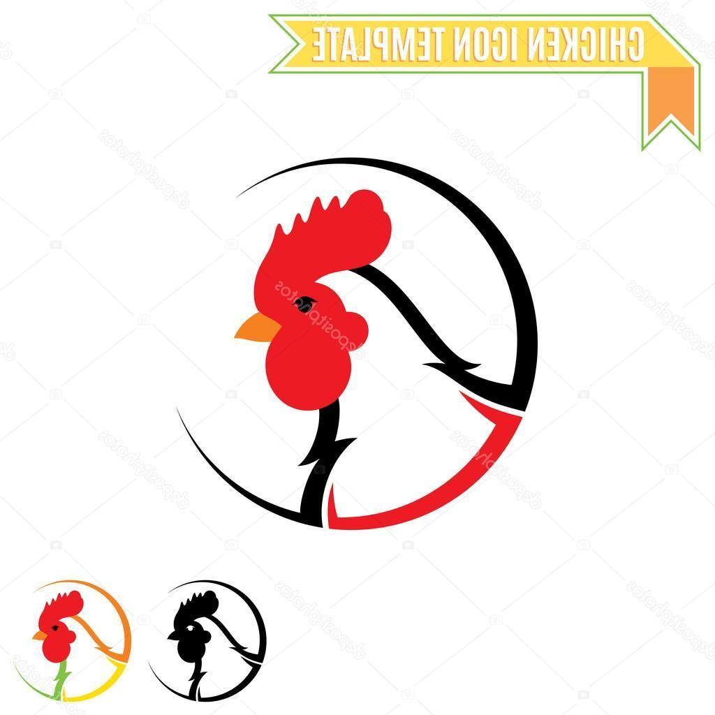Cartoon Chicken Material Chicken Vector Cartoon Chicken Chicken Logo