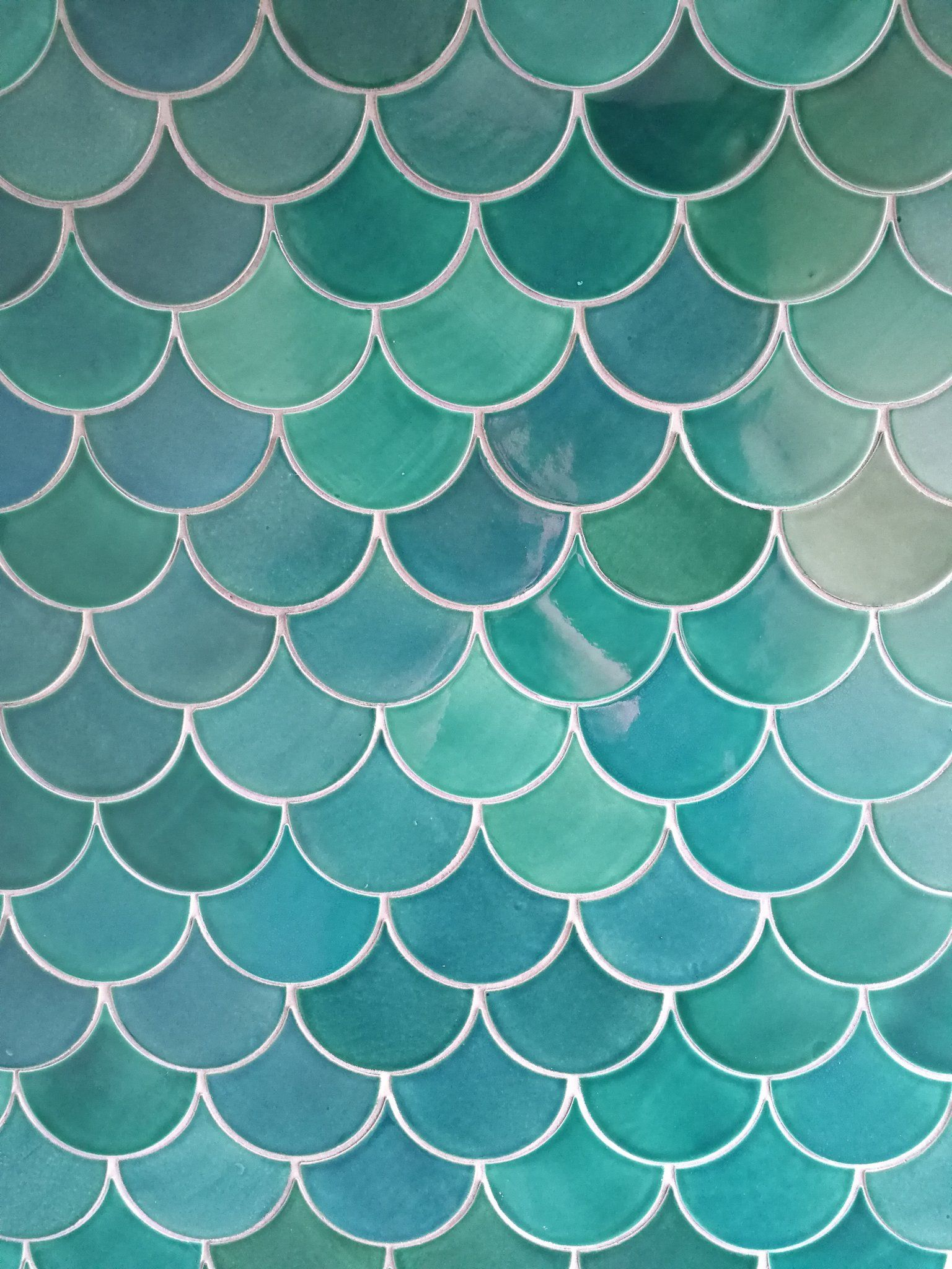 moroccan fish scale tile