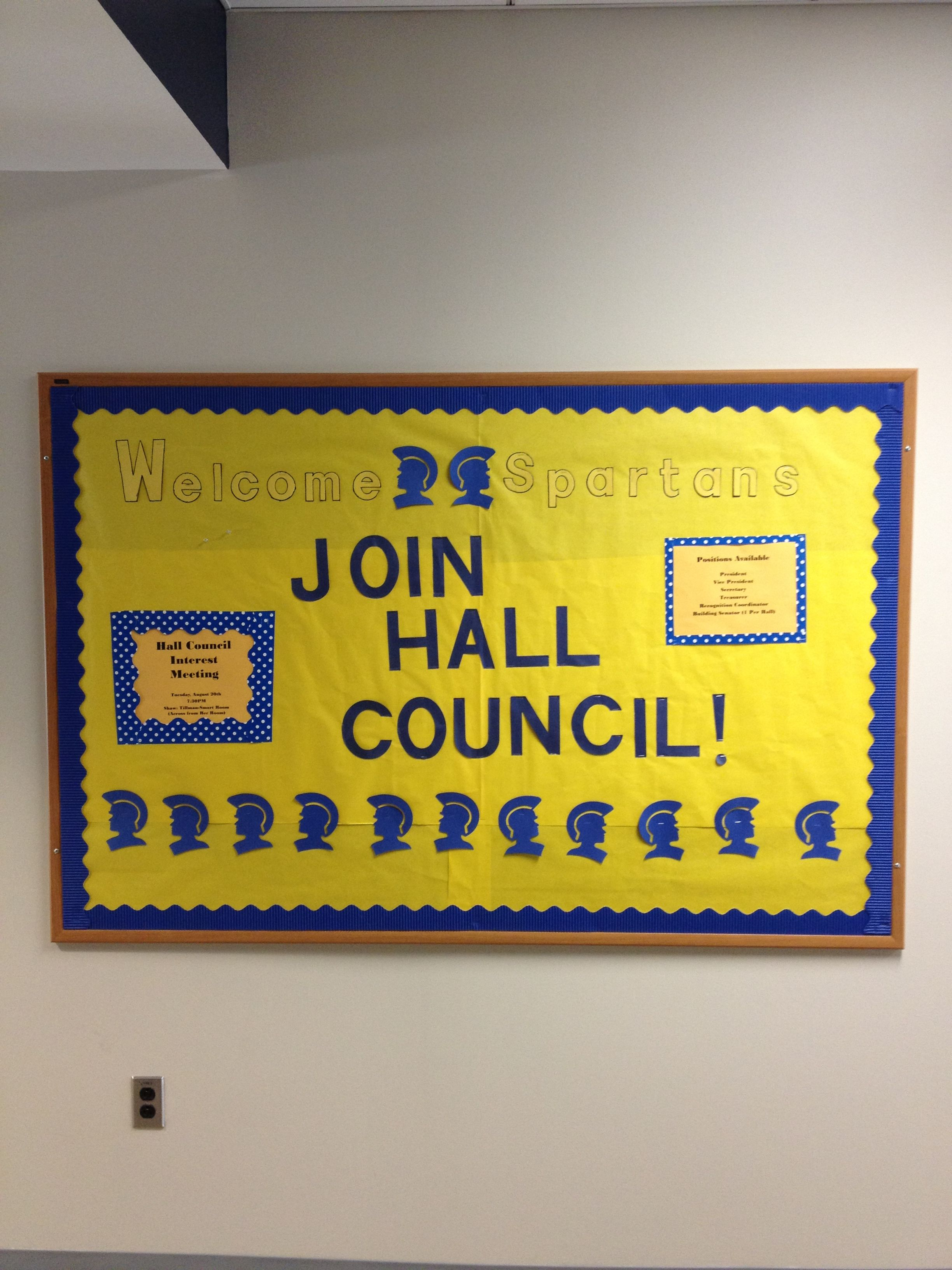 Uncg Rha And Hall Council Advertisement Dsba Res Life Residential Life Ra College