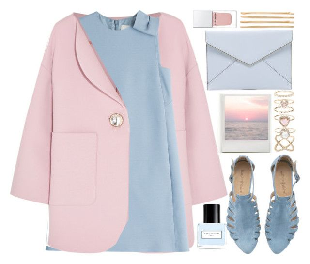"""Light Pink and Baby Blue"" by monicanne ❤ liked on Polyvore featuring Marni, Valentino, Accessorize, Marc Jacobs, Rebecca Minkoff, Givenchy and Cara"