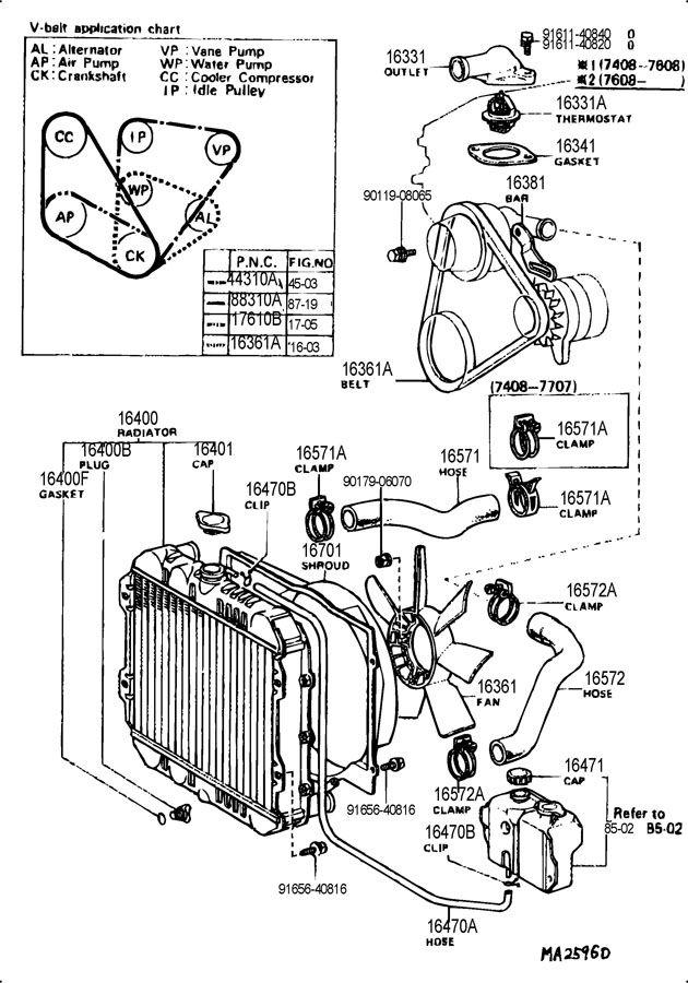 1977 Toyota Corona 2200cc Manual 4 Speed Radiator Water Outlet Toyota Corona Toyota Toyota Dolphin