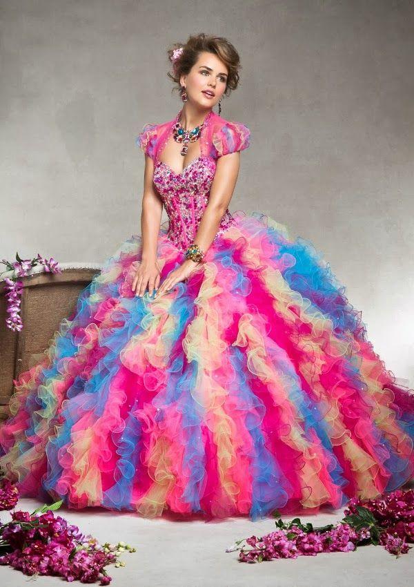Grandiosos vestidos de Quinceanera | Coleccion Vizcaya 2014 | Quince ...