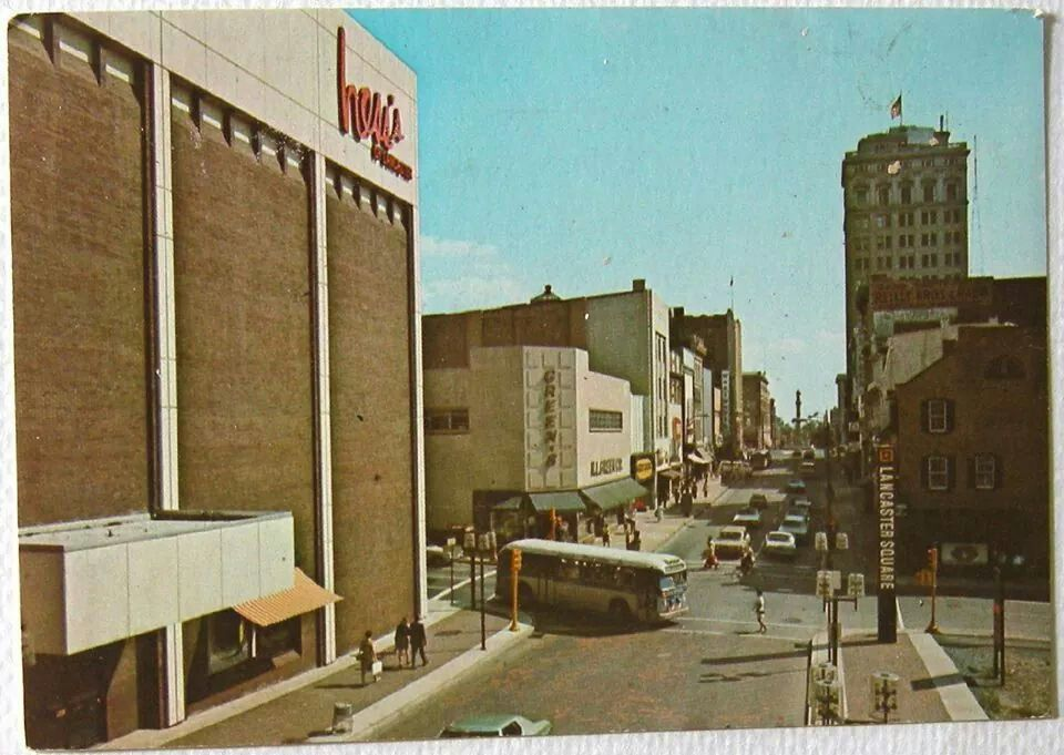 Hess S Department Store Corner Of Queen And Orange Sts Oh So