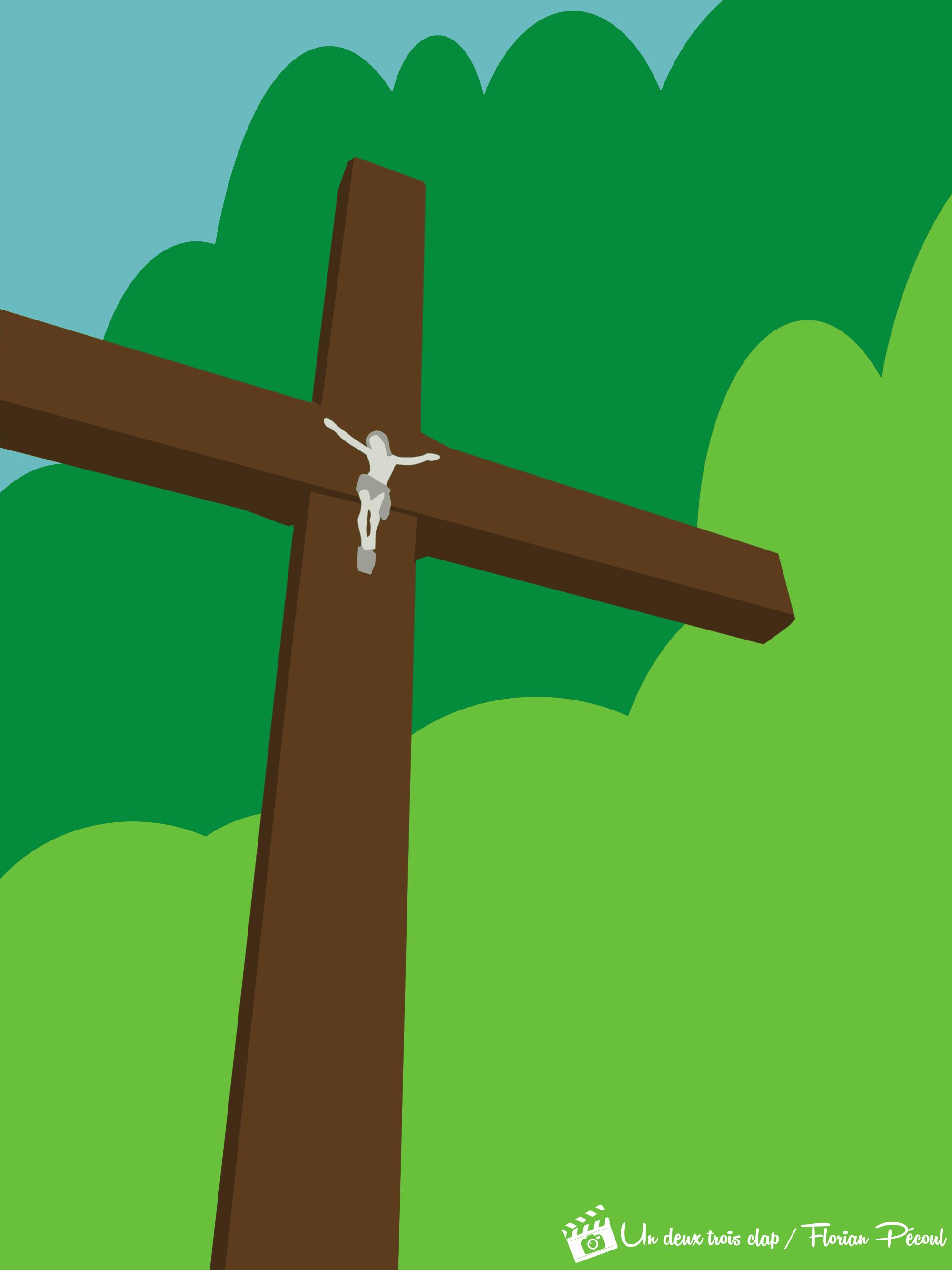 Croix de calvaire - La Robine sur Galabre