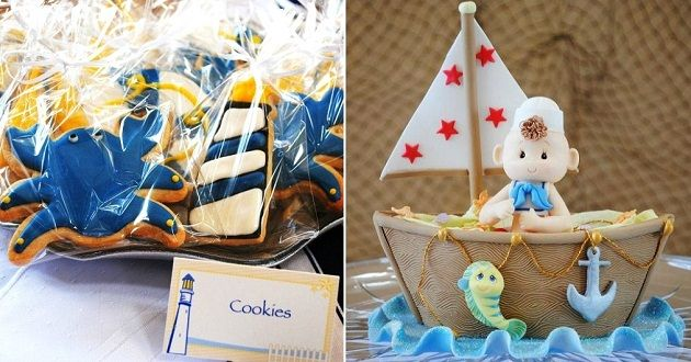 Nautical Themed Baby Shower Babies Baby Shower Nautical And