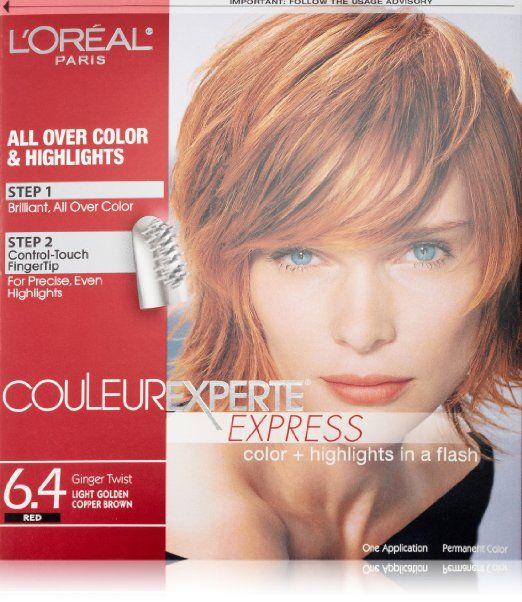Couleur Experte Φως Χρυσή Copper Brown, Τζίντζερ Twist