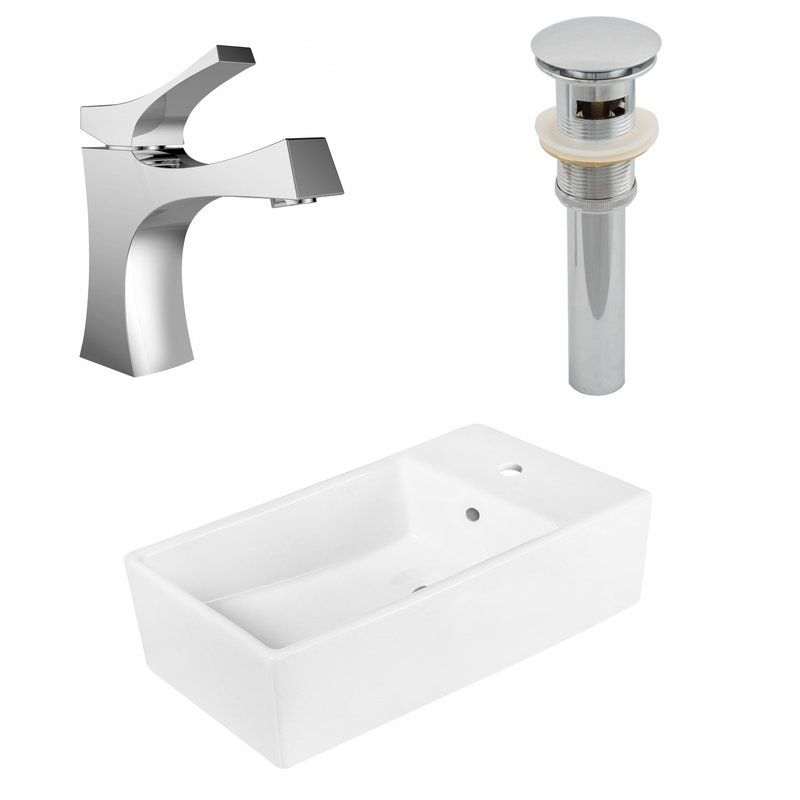 Above Counter Ceramic Circular Undermount Bathroom Sink With Faucet And Overflow Rectangular Sink Bathroom Sink Ceramic Sinks