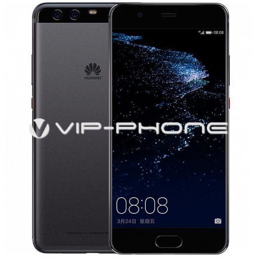 Huawei P10 Plus 128GB fekete gyártói garanciás káryafüggetlen mobiltelefon