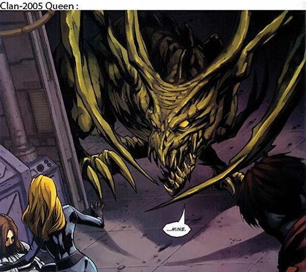 Brood - Sleazoids - Marvel Comics - X-Men enemies - Aliens