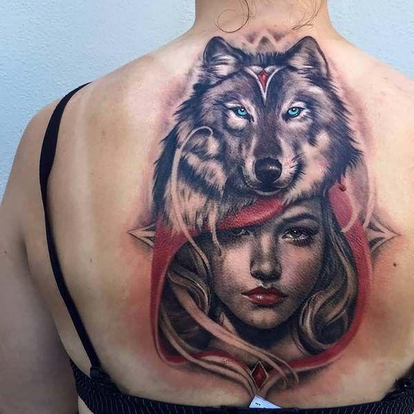 Kurt Bilek Dövmeleri Bayan Wolf Wrist Tattoos For Women: Kırmızı Başlıklı Kız Ve Kurt Dövmesi