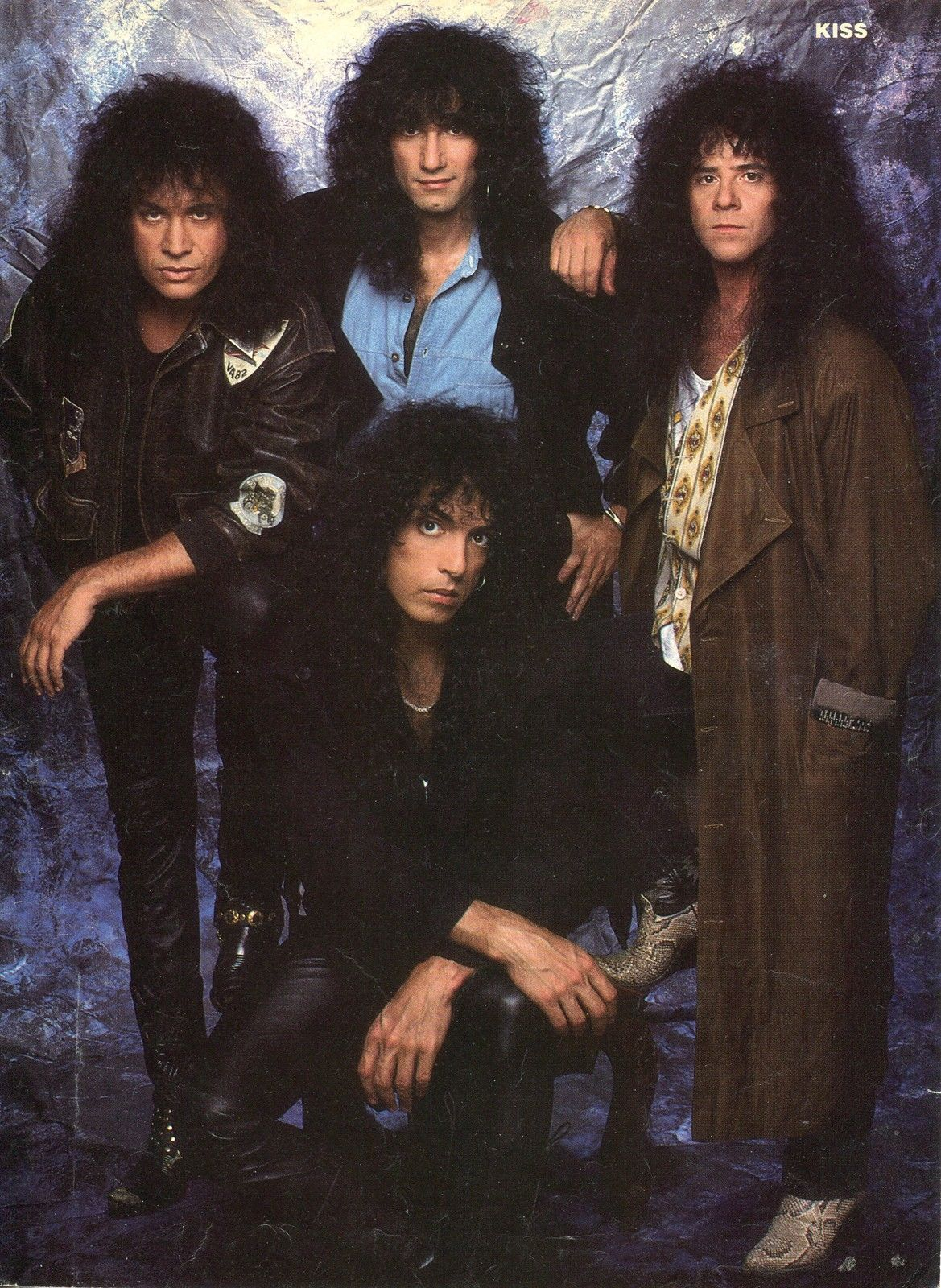 Kiss Pinup clipping 80's Eric Carr Gene Simmons | eBay ...