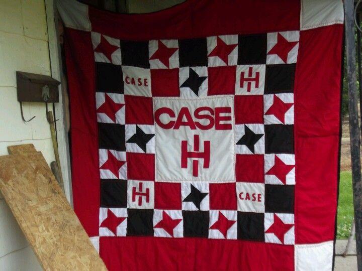 Case ih quilt i made for my niece kalyn best boyfriend