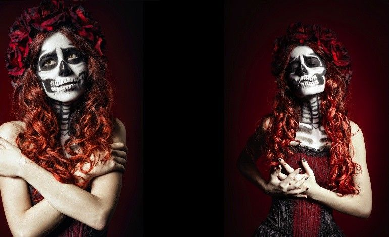 Want to recreate a Day of the Dead (Día de los Muertos) makeup look? Description…