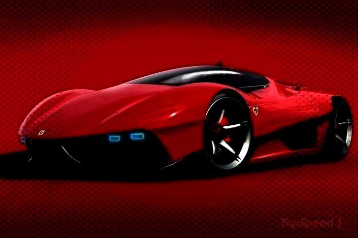 Study - Auto Innenausstattung Design  - Auto Design Ideen -Ferrari EGO Concept Study - Auto Innena