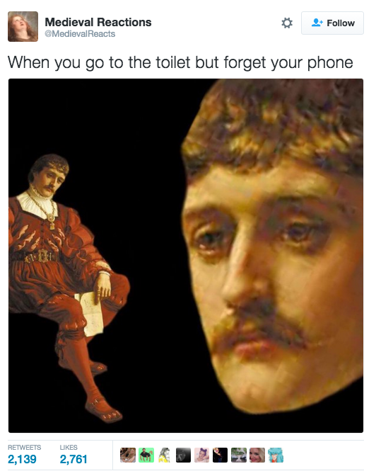 Here S Why You Should Stop Bringing Your Phone To The Bathroom Art History Memes History Memes History Humor