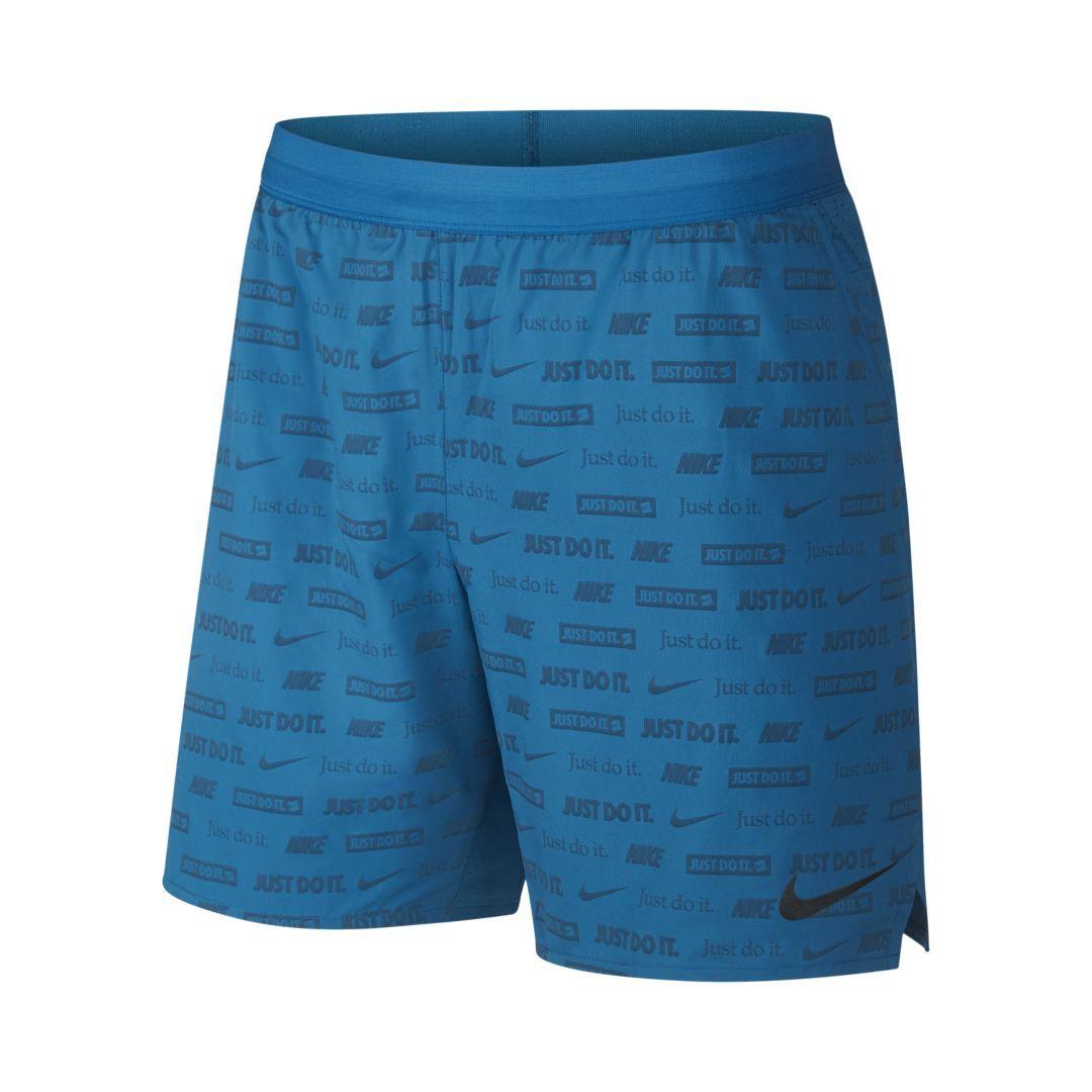 b6f2649b2526 Nike Stride Ghost Flash Men s Running Shorts Size 2XL (Green Abyss)