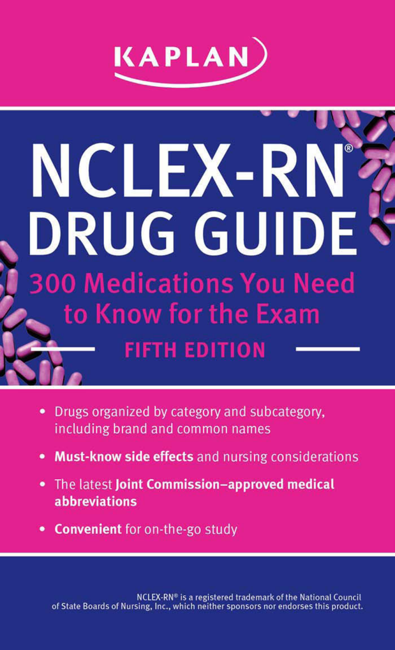 Kaplan nclex rn drug guide 300 medicationspdf google drive kaplan nclex rn drug guide 300 medicationspdf google drive fandeluxe Choice Image