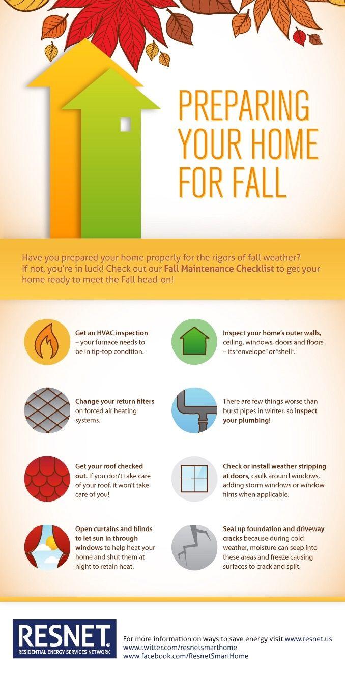 Prepare Your Home For Fall Home Maintenance Checklist Autumn