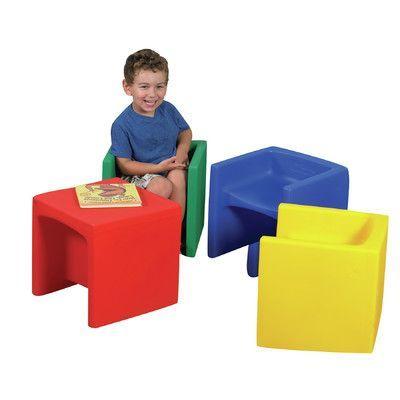 Superieur Childrenu0027s Factory Cube / Educube Kids Novelty Chair