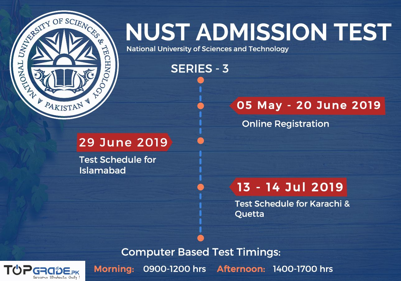 Pin by Top Grade Pakistan on Admission notice | Test