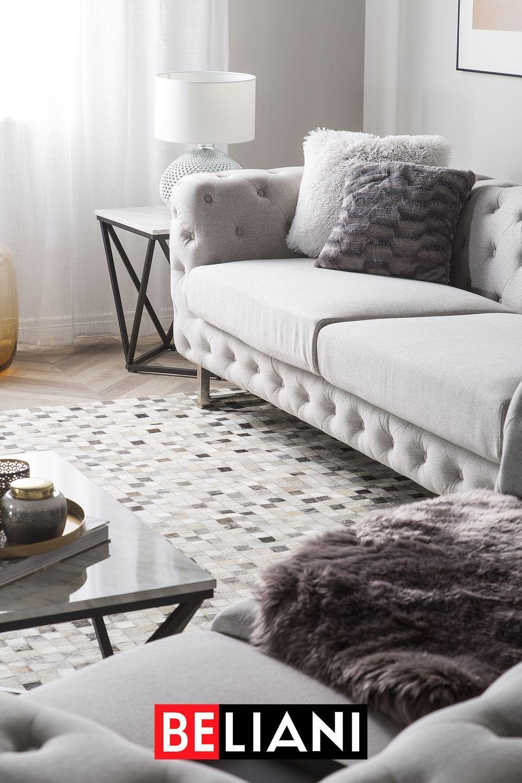 3 Sitzer Sofa Polsterbezug Beige Vissland In 2020 Sofa Stoff 3 Sitzer Sofa Und Sofa Design