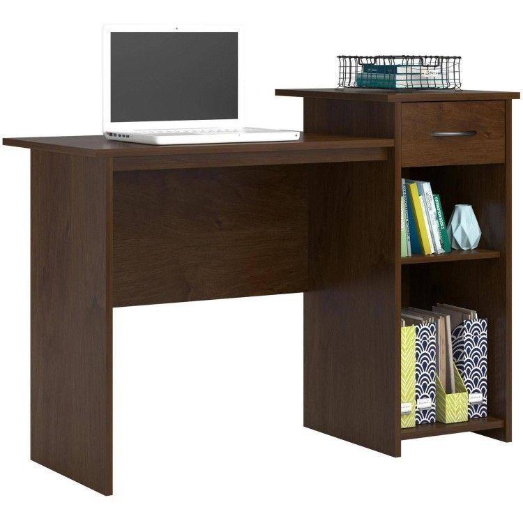 Bedroom Student Desk Wooden Drawer Shelves Office Writing School