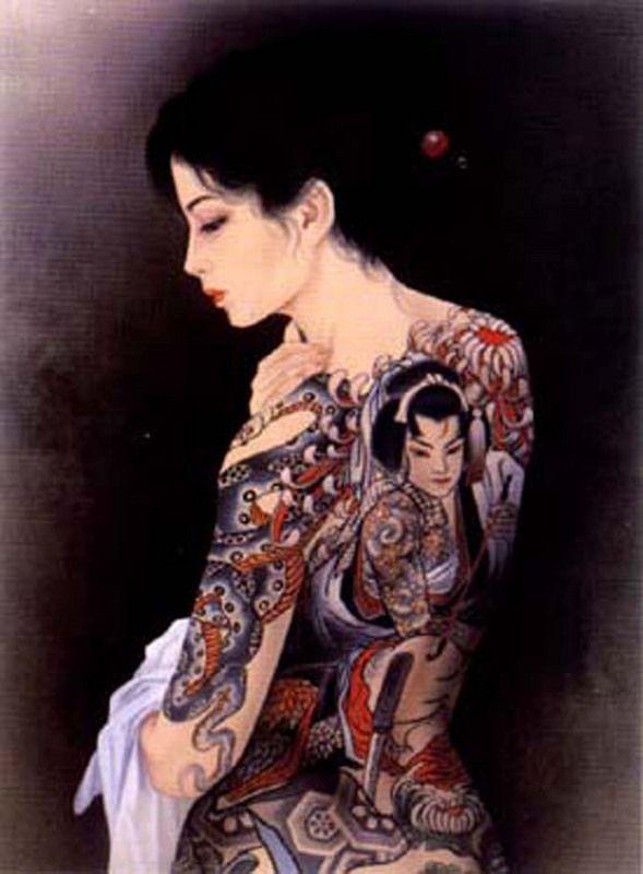 Asian Geisha Japanese Geisha Tattoo Wallpaper 6 Japanese