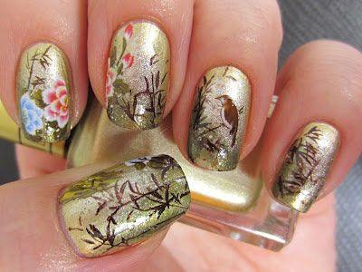 Elegant Chinese Nail Art Designs Ideas 2014 Nail Art And Nail