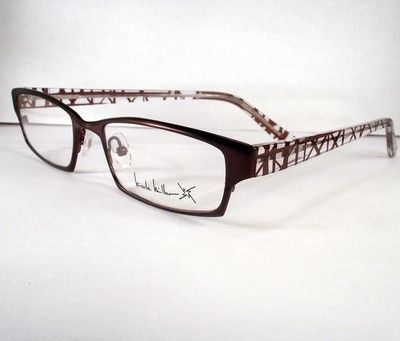 0b38ee54746 my glasses (the stolen pair) Nicole Miller Outrageous Burgundy Eyeglasses