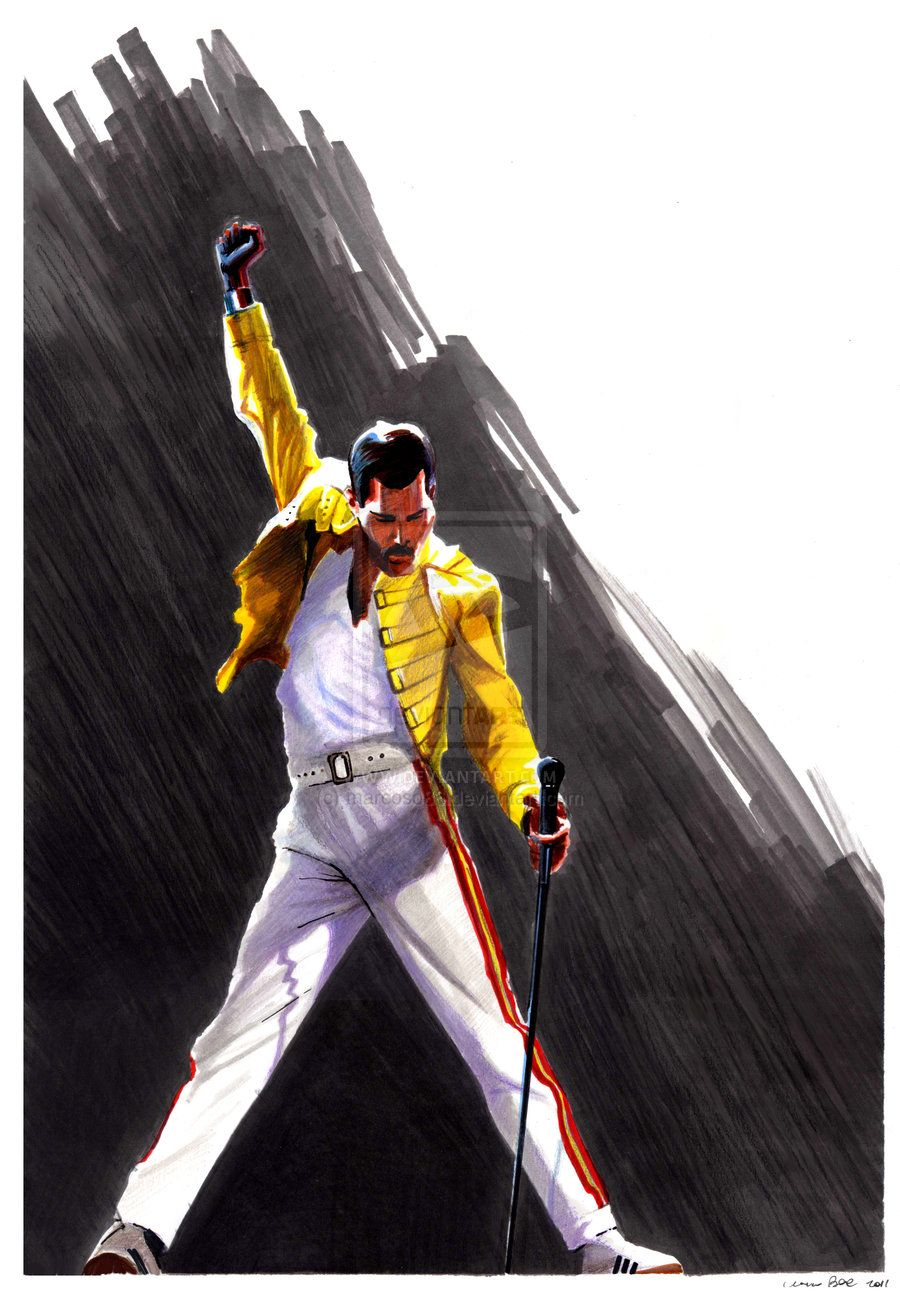 Freddie mercury's anniversary is this week. An amazing ...