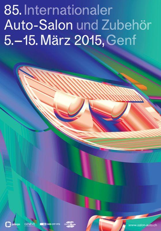 Studierende der ZHdK  haben sich für die Plakatgestaltung des 85. Internationalen Autosalon Genf beworben. Ein Testlauf unter realen Bedingungen.