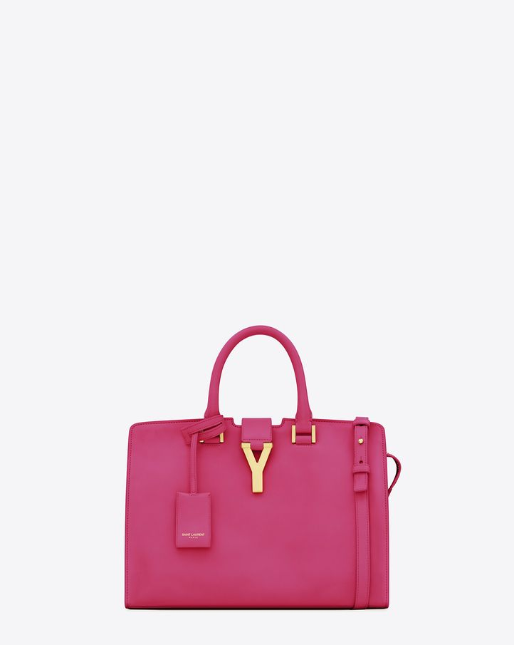 d422d32da4ad The YSL classic small cabas bag Tubular top handle bag with external leather  pouch with enclosed key ring. Pink is a tough color but this pink has just  the ...