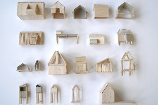 Wooden tiny houses