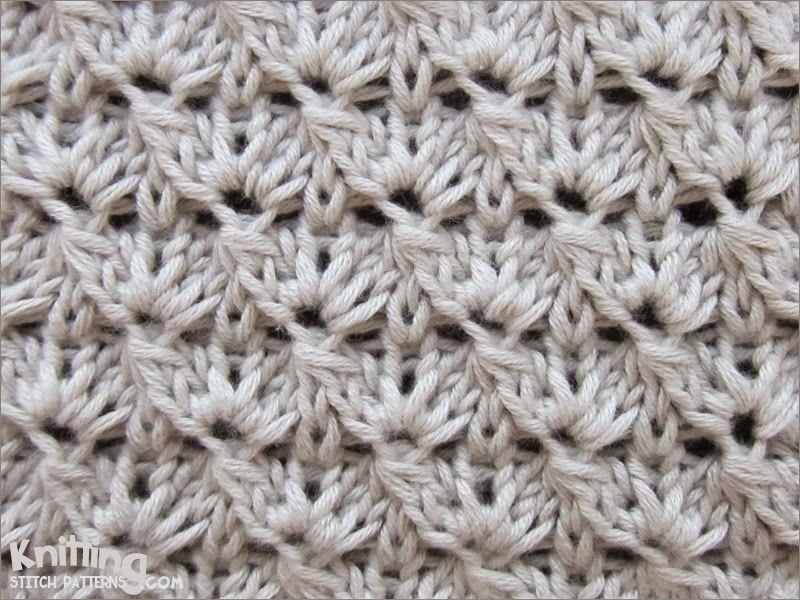 Cluster 5 Stitch Looks Like A Crochet Pattern Knittingcrochet