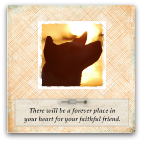 photograph relating to Free Printable Pet Sympathy Cards named Free of charge printable pet sympathy card at  Doggy