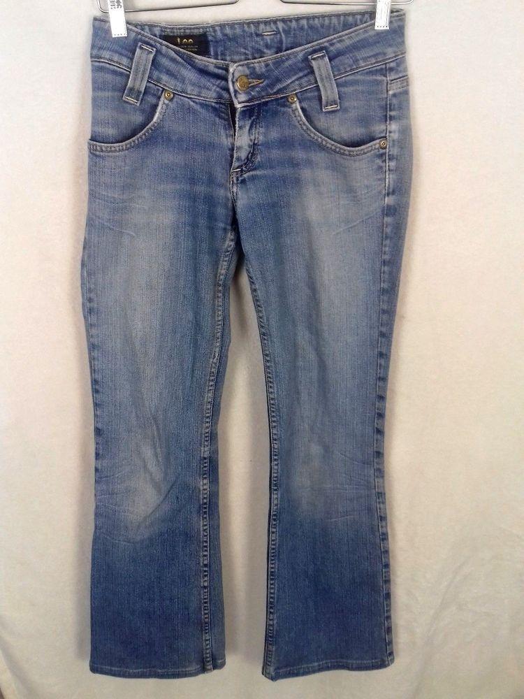 Denim Rise Lee L31 Blue W26 Womens fashion Jeans Cooper Leola Low d0Tqwawxn