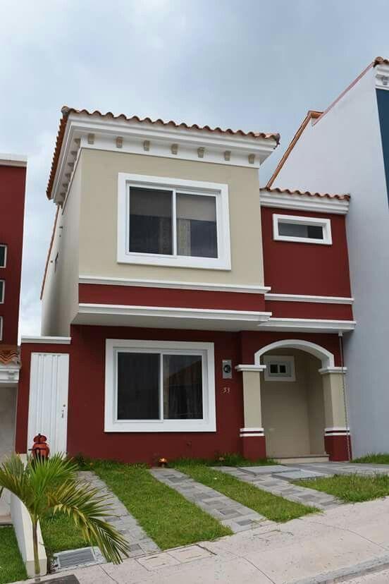 Casas exteriores casita en 2019 pintura fachadas de - Fachadas de casas pintadas ...
