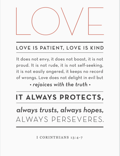 Love's True meaning Words, Verses, Quotes