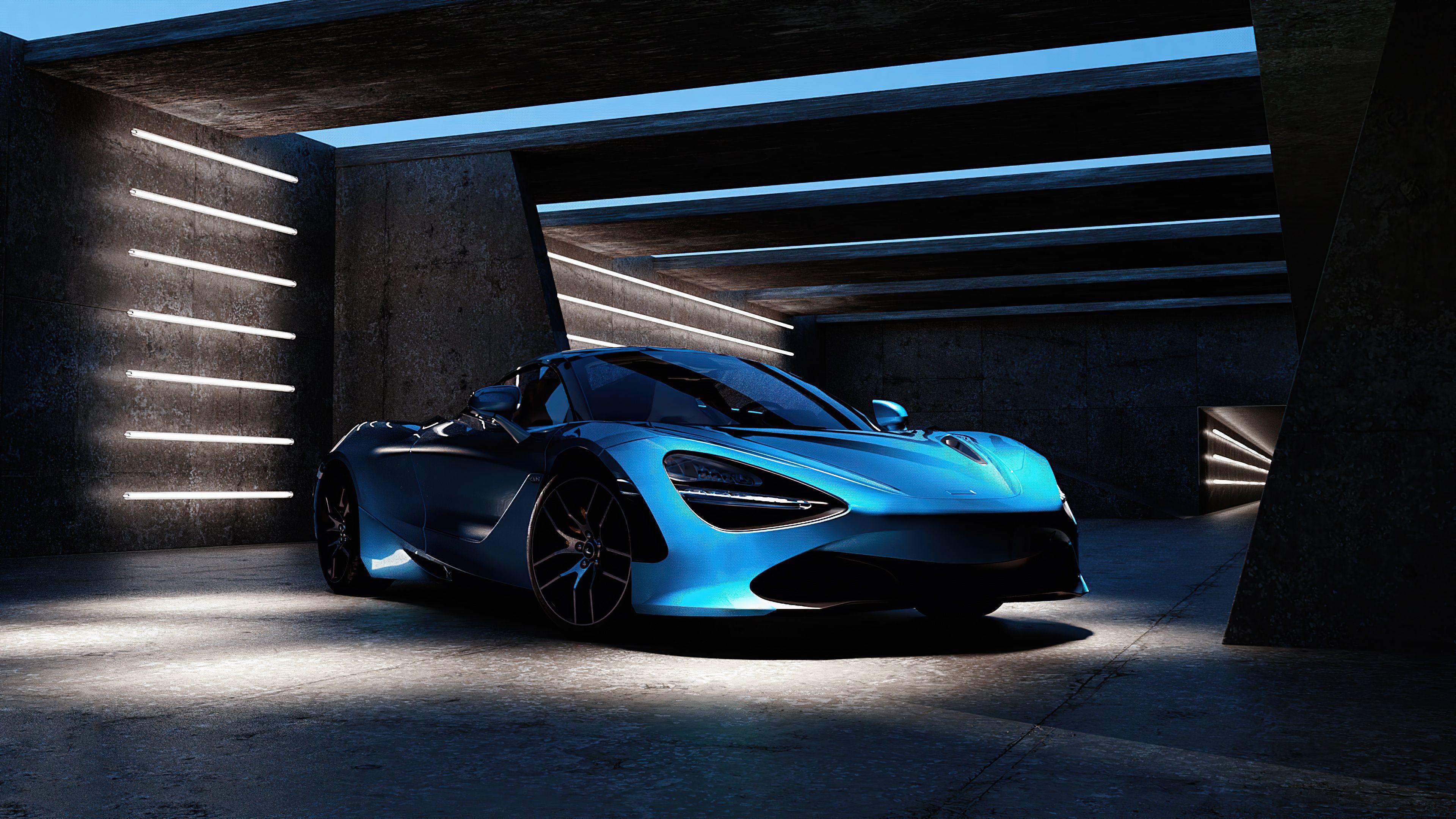 Blue Mclaren 2020 4k Blue Mclaren 2020 4k Wallpapers In 2021 Blue Wallpaper Blue Car