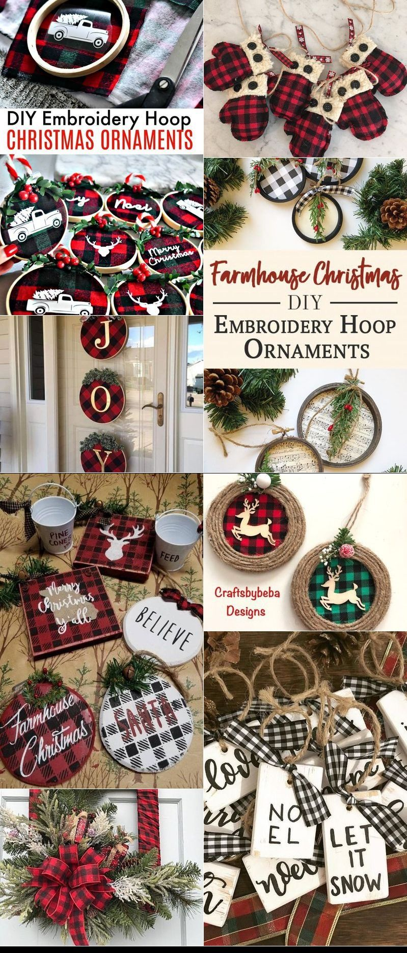 Diy Embroidery Hoop Christmas Ornaments With Images Machine Embroidery Christmas Ornaments Machine Embroidery Christmas Christmas Wreaths Diy