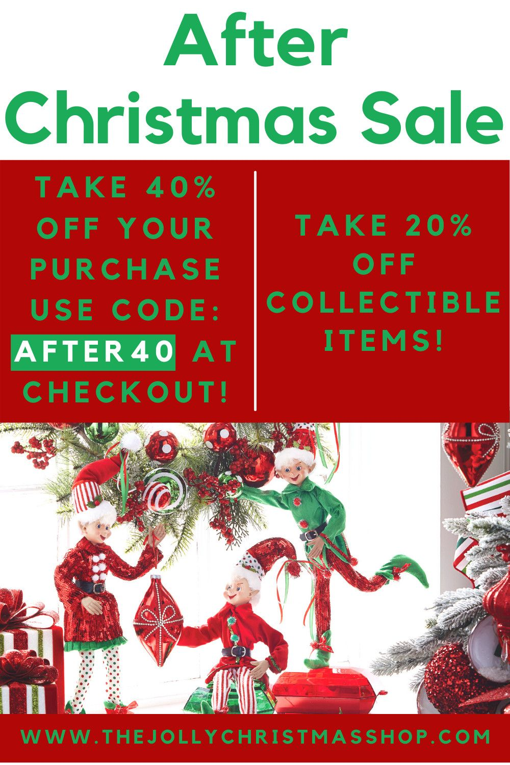Shop Our After Christmas Sale Snag Awesome Items At Super Discounted Prices Shop Now Unique Christmas Decorations Unique Christmas Christmas Fun
