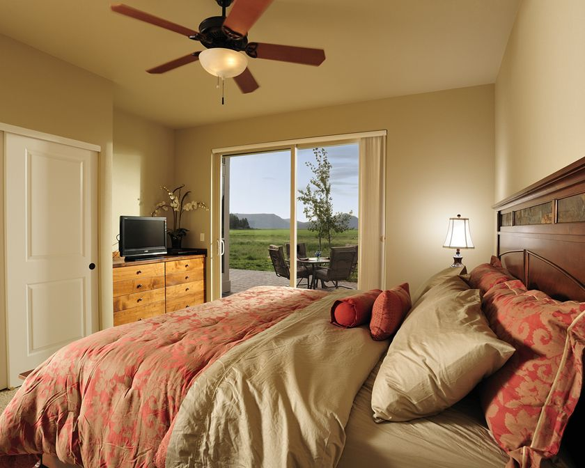 Book one of our custom homes at running y ranch resort in