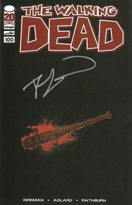 Image result for The Walking Dead #100 - Red Foil Variant Cover