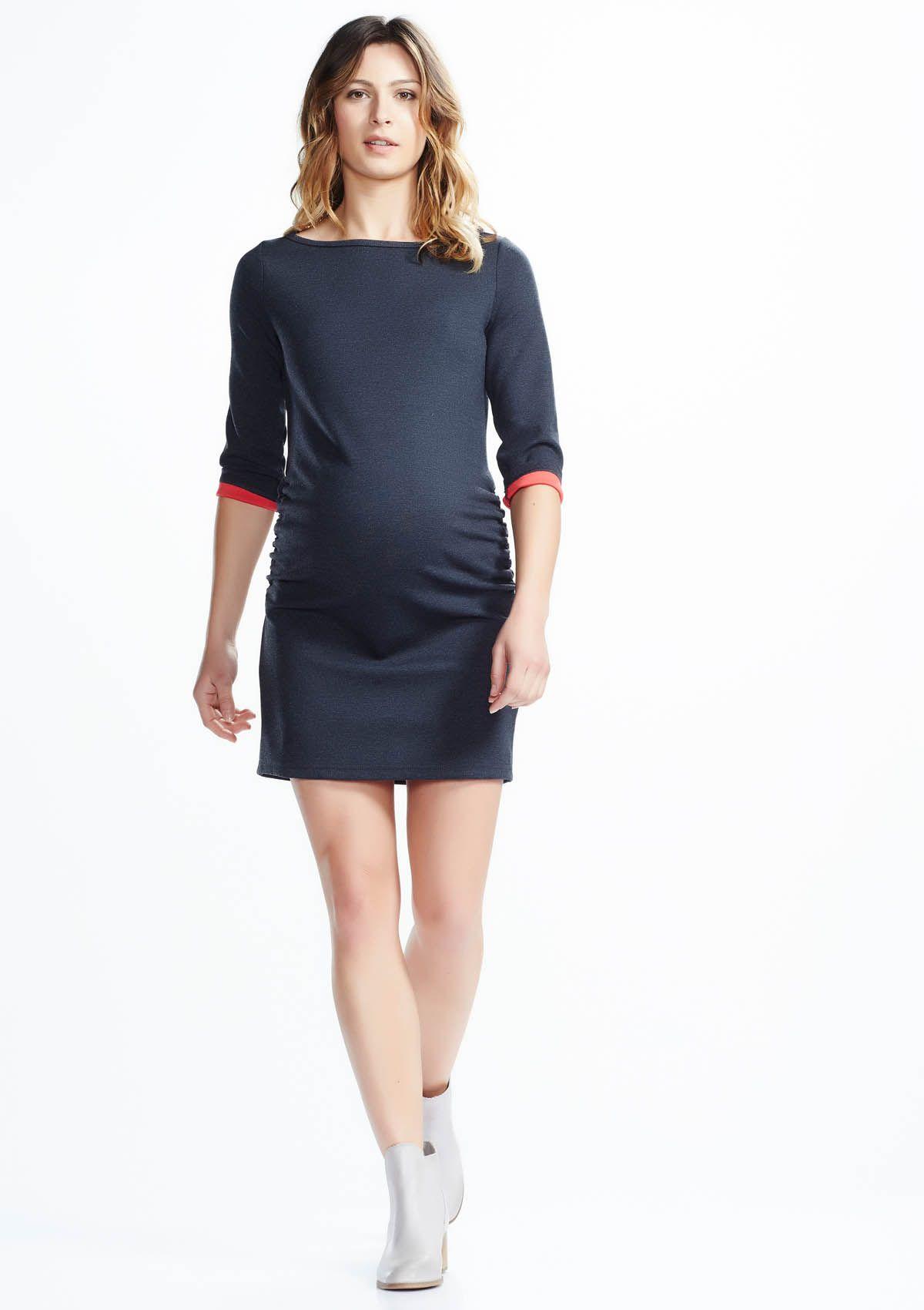 Soon Maternity | Sienna Mini Maternity Dress for maternity evening wear &70