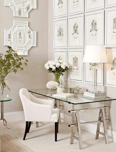Un bureau de luxe | design d\'intérieur, décoration, pièce à vivre ...