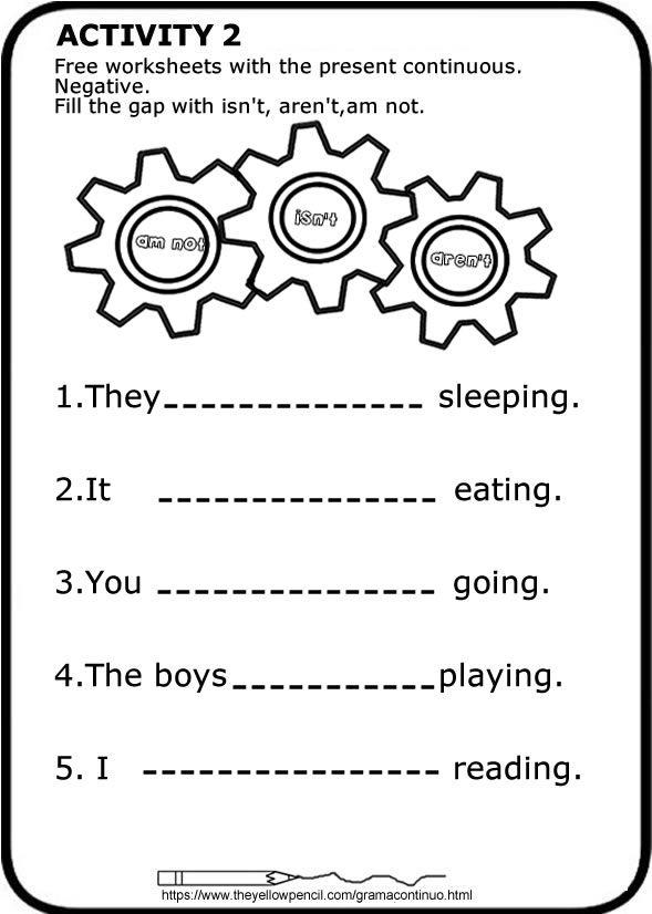 Ficha Para Imprimir Rellena Los Huecos English Worksheet Fill The Gaps Prese Ingles Para Preescolar Hojas De Inglés Para Niños Métodos Para Aprender Inglés